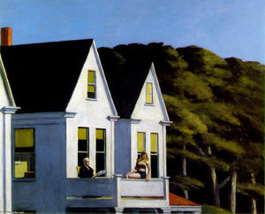 Edward Hopper - 第 物語  日光