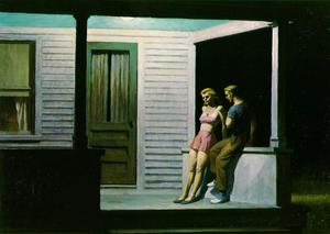 Edward Hopper - 夏 夕方
