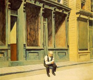 Edward Hopper - 日曜日