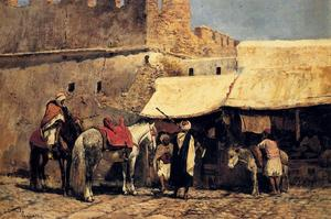 Edwin Lord Weeks - タンジール