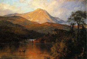 Frederic Edwin Church - マウントKatahdin 1