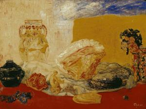James Ensor - Coquillages バラ ら 花瓶