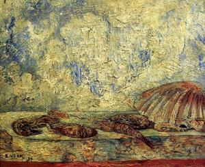 James Ensor - エビらcoquillages