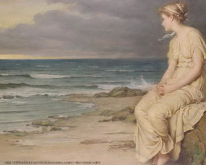 John William Waterhouse - ミランダ