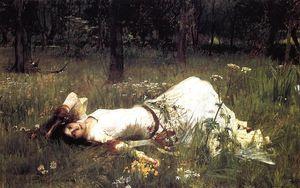 John William Waterhouse - オフィーリア 1