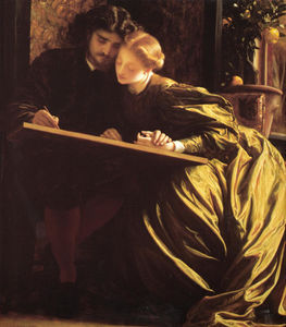 Lord Frederic Leighton - 画家のハネムーン