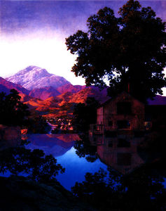 Maxfield Parrish - 水車池