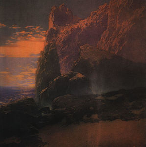 Maxfield Parrish - テンペスト
