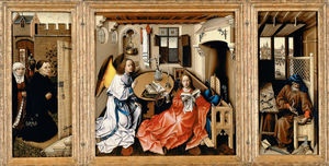 Robert Campin (Master Of Flemalle) - メロードの祭壇画