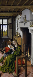 Robert Campin (Master Of Flemalle) - 聖バーバラ