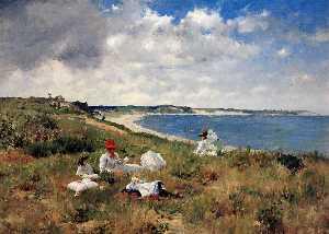 William Merritt Chase - アイドル時間
