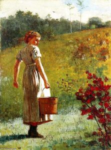 Winslow Homer - returning` から 春