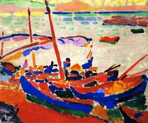 André Derain - 釣り ボート, コリウール