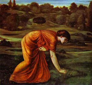 Edward Coley Burne-Jones - 月マリーゴールド