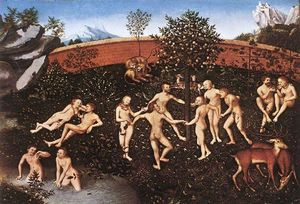 Lucas Cranach The Elder - ザー 黄金の 年齢