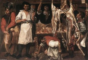 Annibale Carracci - 肉屋
