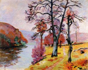 Jean Baptiste Armand Guillaumin - Crozant , エコーロック , 冬