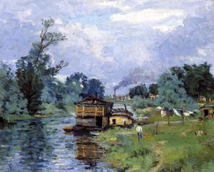 Jean Baptiste Armand Guillaumin - ザー 銀行 の 川