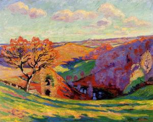 Jean Baptiste Armand Guillaumin - Crozantでクルーズ