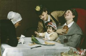 Carolus-Duran (Charles-Auguste-Emile Durand) - Merrymakers