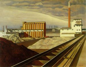 Charles Rettew Sheeler Junior - クラシック 風景