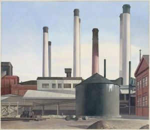 Charles Rettew Sheeler Junior - フーガ