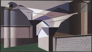 Charles Rettew Sheeler Junior - 中西部
