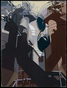 Charles Rettew Sheeler Junior - 鉄鉱石中へ