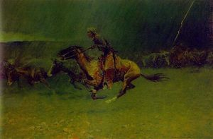 Frederic Remington - スタンピード