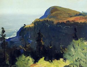 George Wesley Bellows - 丘 と  谷