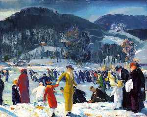 George Wesley Bellows - 愛 の 冬