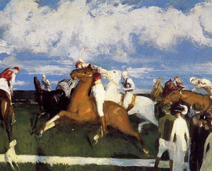 George Wesley Bellows - ポロゲーム
