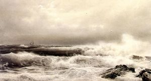 William Trost Richards - a ストーム