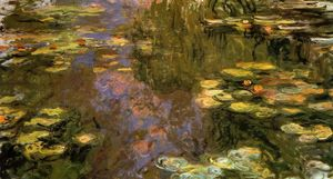 Claude Monet - ザー Water-Lily 池 8