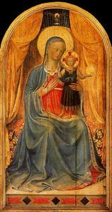 Fra Angelico - 処女 そして 子供 1