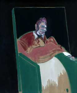 Francis Bacon - 以下のための研究 a ローマ教皇 六