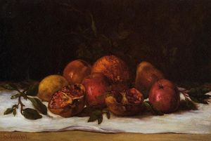 Gustave Courbet - 静物画