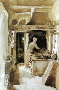 James Abbott Mcneill Whistler - ザー キッチン