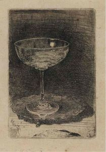 James Abbott Mcneill Whistler - ザー Wine-Glass