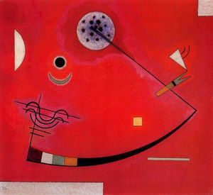Wassily Kandinsky - tension` 教会に コーナー