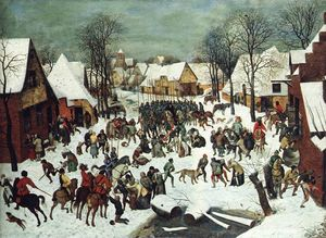 Pieter Bruegel The Elder - 罪のスローター