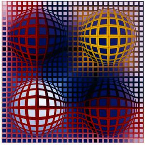Victor Vasarely - Arny-ベガ-がnegy
