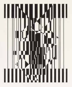 Victor Vasarely - Calcis