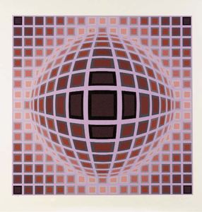 Victor Vasarely - ルイジアナ1