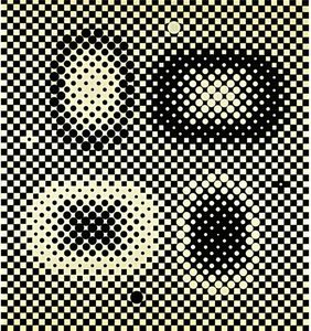 Victor Vasarely - Metagalaxie 1