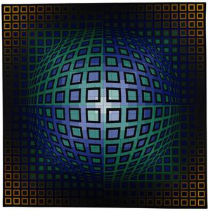 Victor Vasarely - 打た