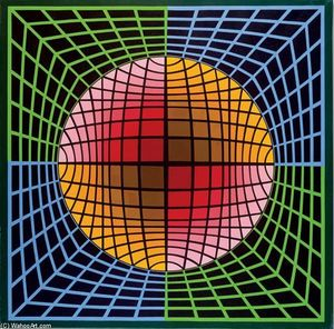 Victor Vasarely - TER-UR-NB2