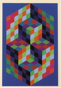 Victor Vasarely - 無題 21