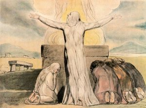 William Blake - Job s犠牲
