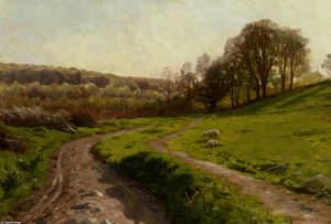 Peder Mork Monsted - a 国 フィールド